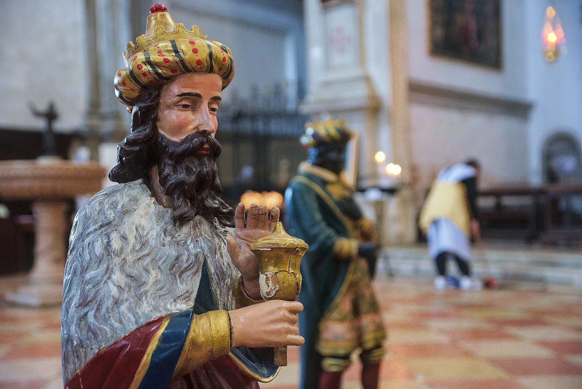 Presepe nella chiesa di San Francesco della Vigna