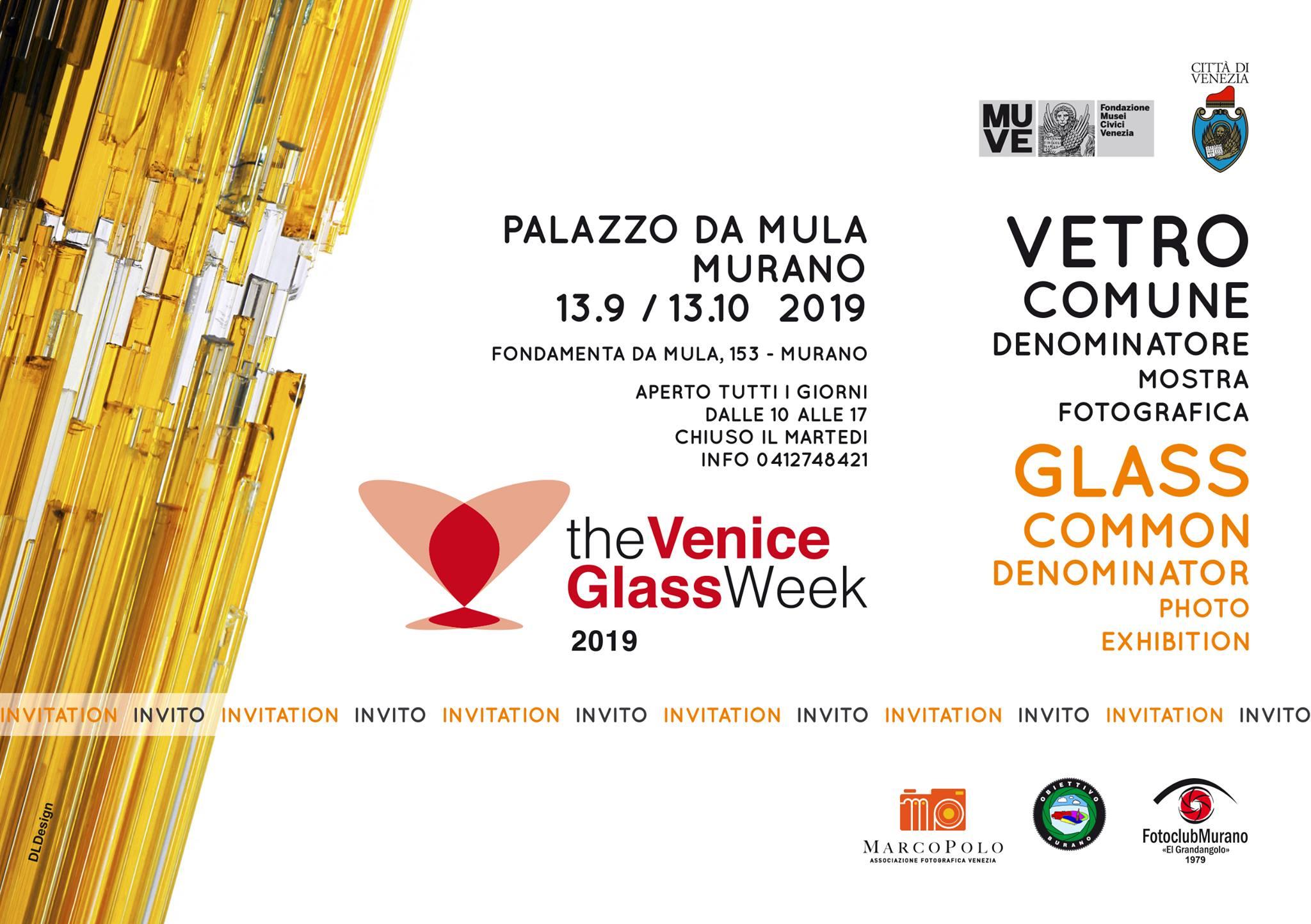 Vetro comune denominatore - Glass week 2019