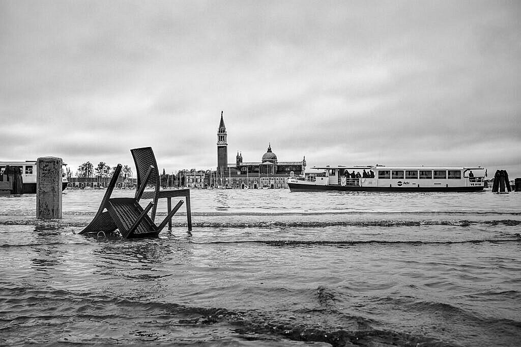 High tide in Venice -